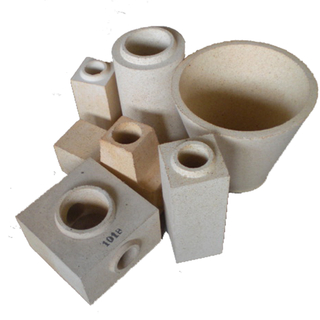 Refractory brick for steel casting